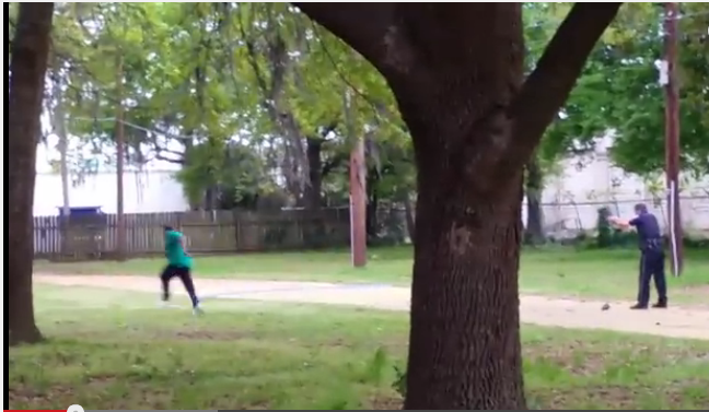 Police chase down Walter Scott and murder him.