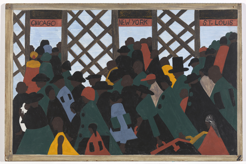 "Jacob Lawrence ""One-Way Ticket: Jacob Lawrence's Migration Series and Other Visions of the Great Movement North""—Panel 1"