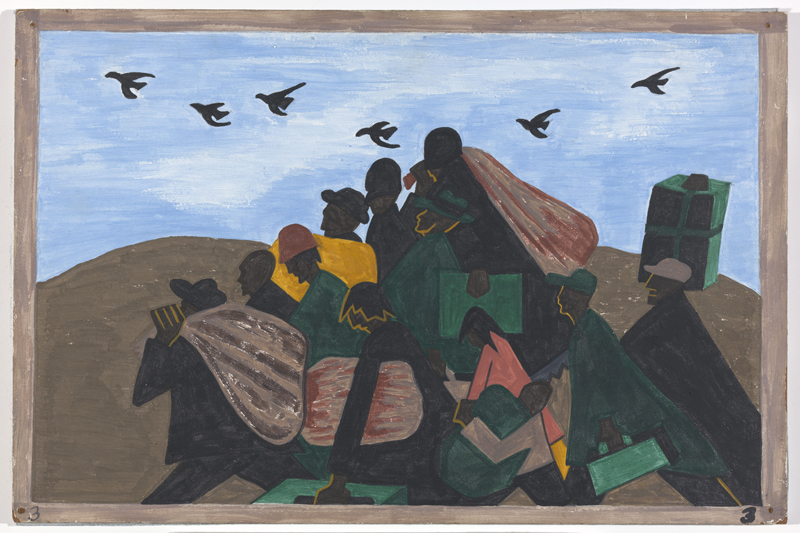 "Jacob Lawrence ""One-Way Ticket: Jacob Lawrence's Migration Series and Other Visions of the Great Movement North""—Panel 3"