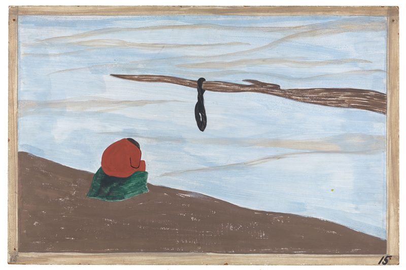 "Jacob Lawrence ""One-Way Ticket: Jacob Lawrence's Migration Series and Other Visions of the Great Movement North""—Panel 15"