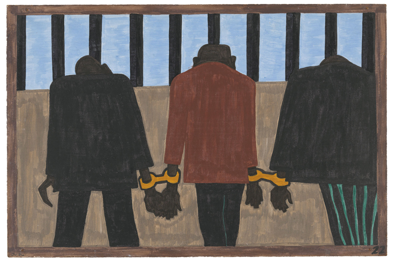 "Jacob Lawrence ""One-Way Ticket: Jacob Lawrence's Migration Series and Other Visions of the Great Movement North""—Panel 22"