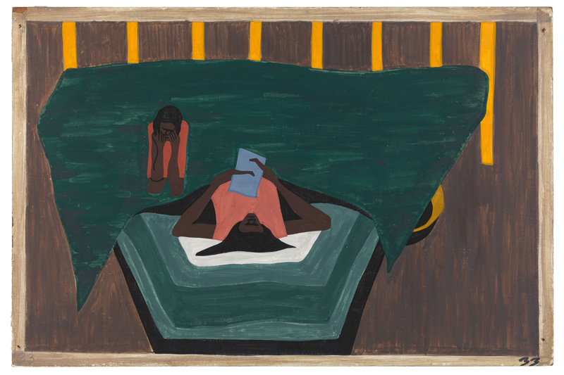 "Jacob Lawrence ""One-Way Ticket: Jacob Lawrence's Migration Series and Other Visions of the Great Movement North""—Panel 33"