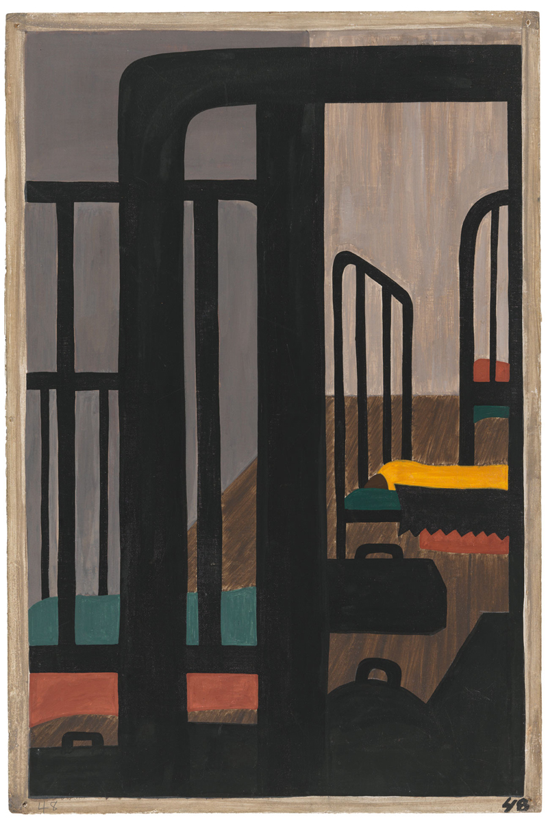"Jacob Lawrence ""One-Way Ticket: Jacob Lawrence's Migration Series and Other Visions of the Great Movement North""—Panel 48"