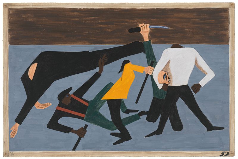 "Jacob Lawrence ""One-Way Ticket: Jacob Lawrence's Migration Series and Other Visions of the Great Movement North""—Panel 52"