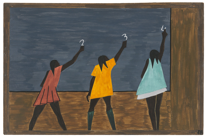 "Jacob Lawrence ""One-Way Ticket: Jacob Lawrence's Migration Series and Other Visions of the Great Movement North""—Panel 58"