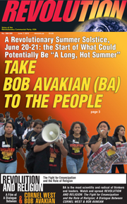 Revolution #389, June 1, 2015 - front page
