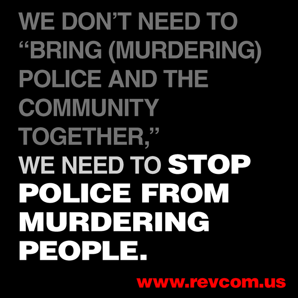 Stop police from murdering people