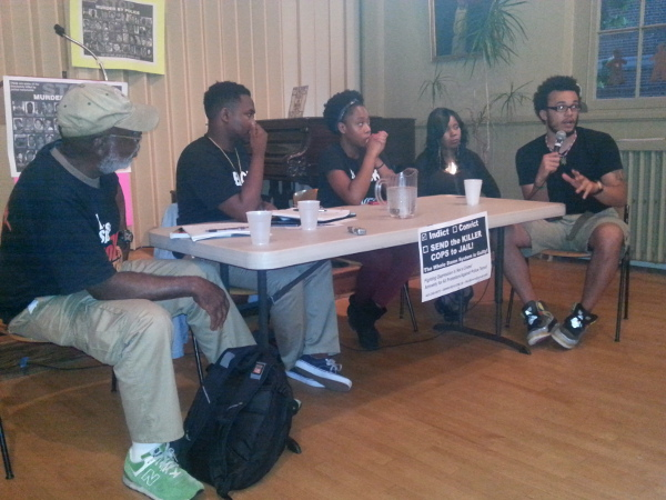 Forum in Baltimore, sponsored by Revolution/revcom.us