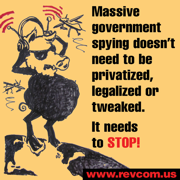 Government spying needs to stop