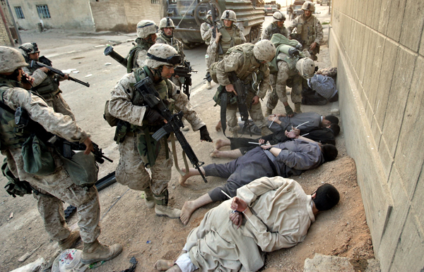 Fallujah, Iraq, November 2004. Photo: AP