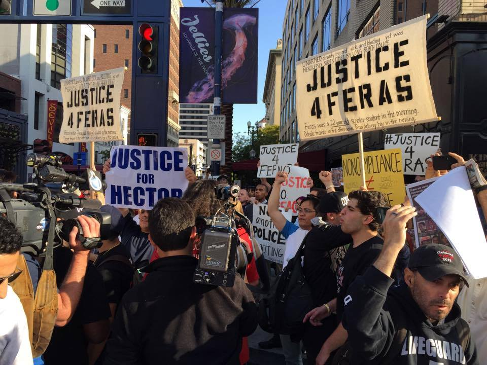 Justice for Feras! Protest, June 4, Long Beach