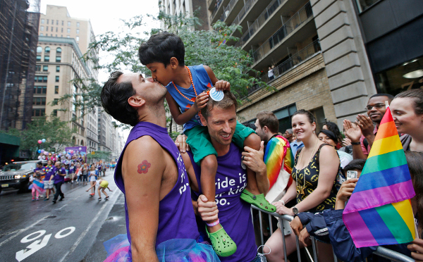 Gay Pride March New York, June 28, 2015