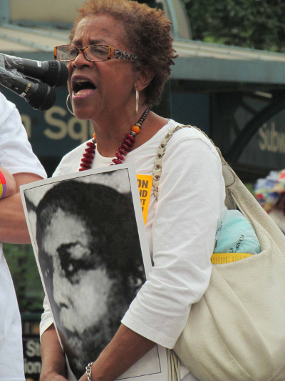 Nellie Bailie, Harlem Tenants Council, Union Square, July 1