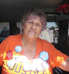 Jean Thaxton, mother of Michael Nida, killed by Downey CA police, 2011