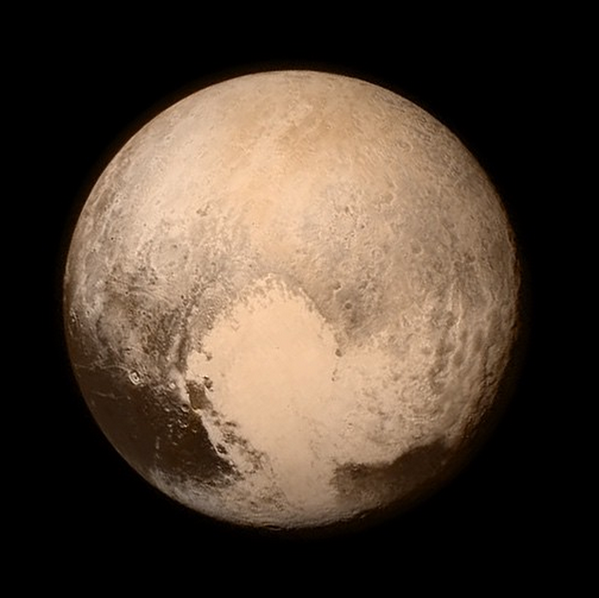 Pluto from the New Horizons mission
