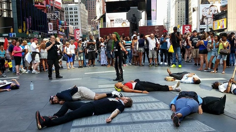 Times Square, New York City, July 17