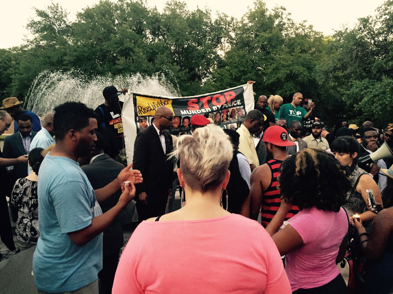 Waller County vigil for Sandra Bland