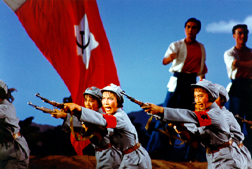 Scene from The Red Detachment of Women, 1972.