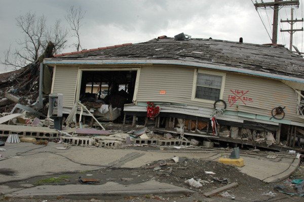 Lower ninth ward, New Orleans, 2005