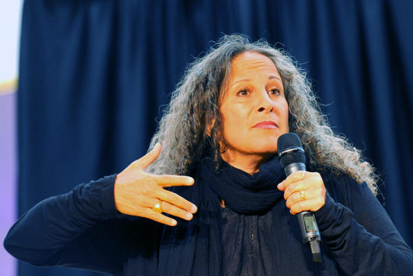 Gina Belafonte, co-director of the SANKOFA Foundation