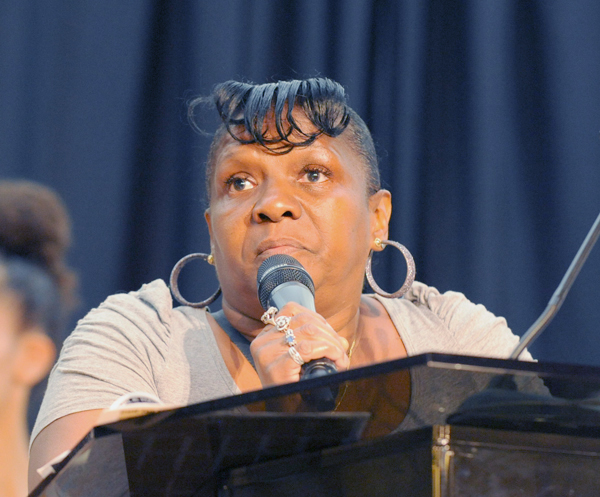 Joanne Mickens, whose son Corey Mickens was murdered by the NYPD in 2007