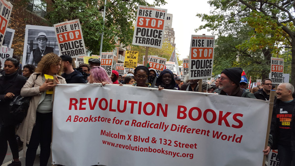 Revolution Books at October 24 Rise Up October