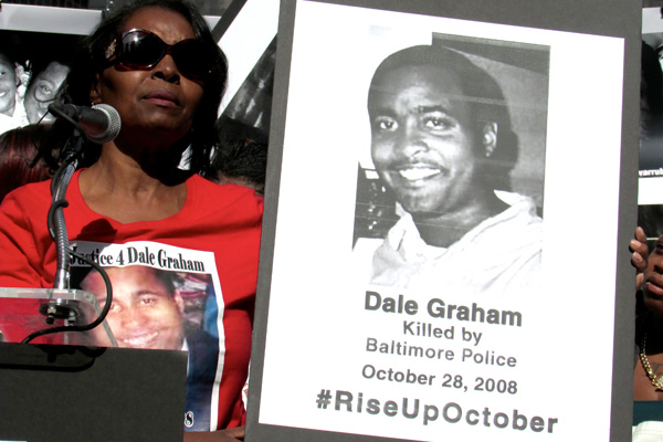 Darlene Cain, Mother of Dale Graham