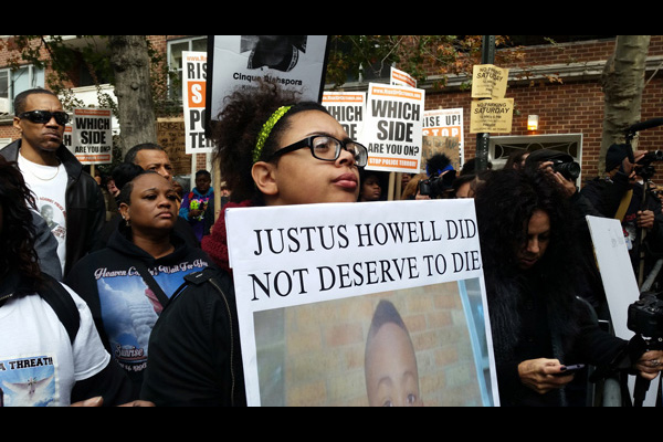 Justus Howell was killed by police in Zion, Illinois, April 14, 2015