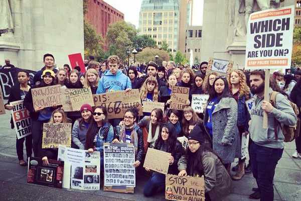 Columbia University students. Photo: Noel Altaha @ngaltaha