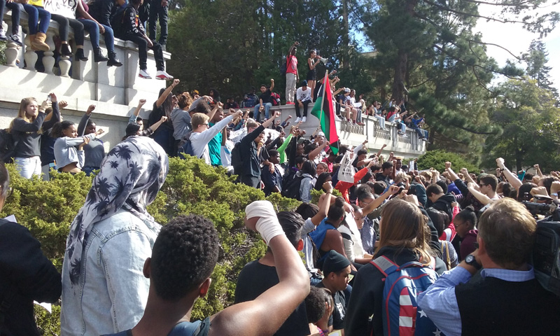 Berkeley High School Walkout November 5, 2015