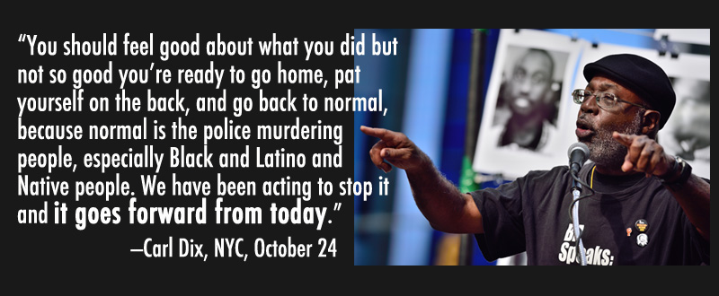 Carl Dix on Rise Up October
