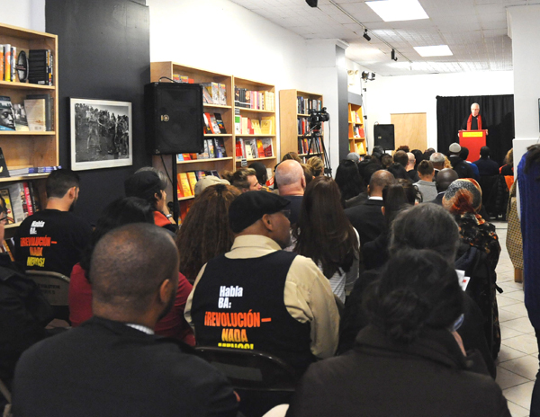 Grand opening celebration at Revolution Books in Harlem, November 15 | credit:revcom.us