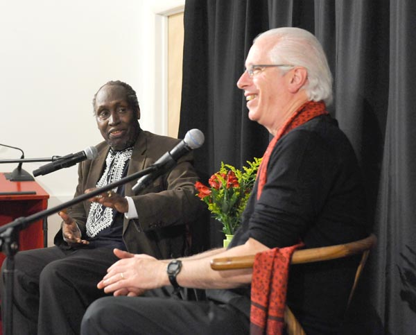 Ngugi wa Thiong'o and Andy Zee