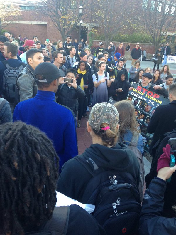 Revcoms and students at Mizzou
