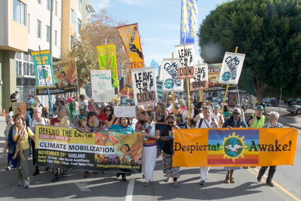 "Oakland, November 21: ""Defend the Earth!"""