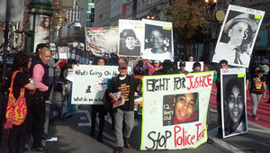 Tamir Rice protest, San Francisco