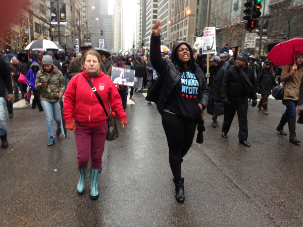 Chicago, Black Friday protest