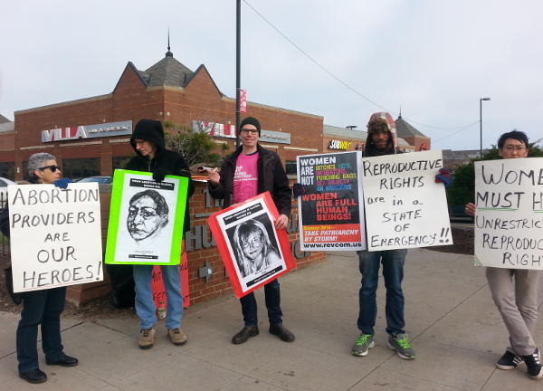 Cleveland, in solidarity with Planned Parenthood