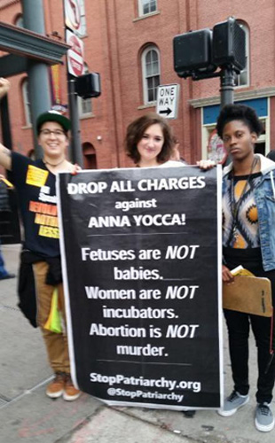 Stand with Anna Yocca