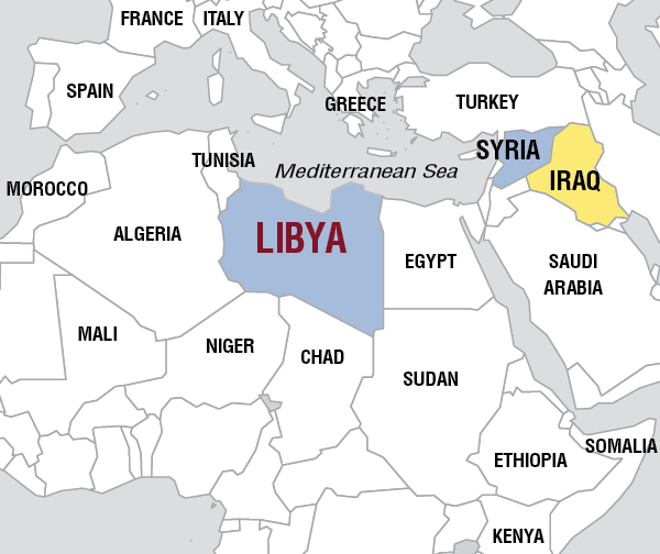 The 2011 us nato war helped turn libya into hell on earth now the and their invasions exacerbate the global clash between western imperialism and reactionary islamic jihad libya map gumiabroncs Images
