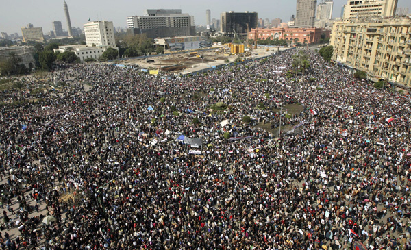 Tahrir Square, Cairo, February 11, 2011