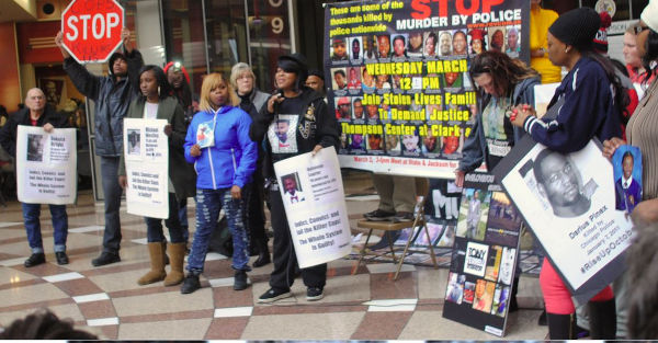 Chicago, Stolen Lives Families Demand Justice, March 2, 2016