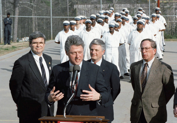 Bill Clinton at Stone Mountain prison