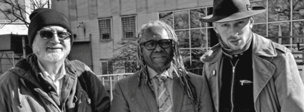 Clark Kissinger (left) and Miles Solay (right) with their attorney Kenny Gilbert