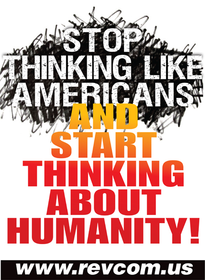 Stop thinking like Americans
