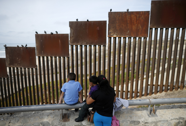 U.S./Mexico border at Tijuana