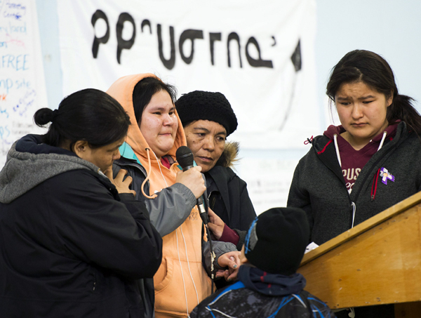 17-year-old Attawapiskat woman tells of her 13-year-old sister's suicide, as well as of her owon previous suicide attempts.