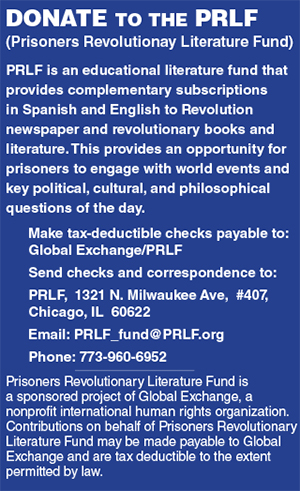 Donate to the Prisoners Revolutionary Literature Fund