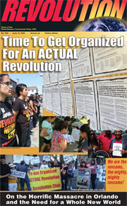 Revolution #443, June 13, 2016- front page
