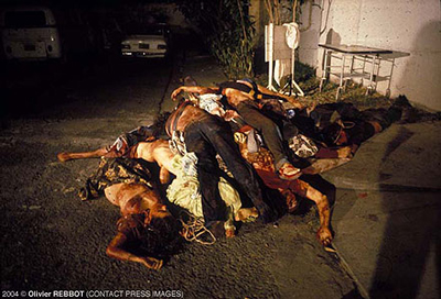 Victims of death squad in El Salvador